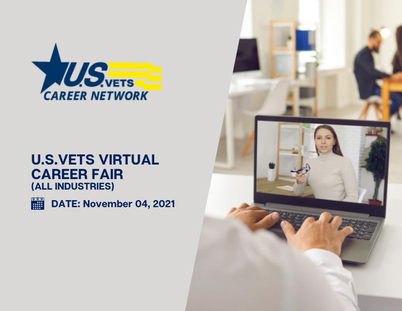 U.S.VETS Virtual Career Fair